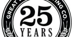 Great Lakes Brewery 25th Anniversary Logo
