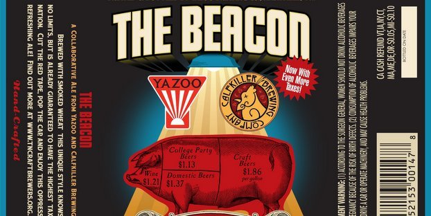Yazoo Brewing Beacon Ale