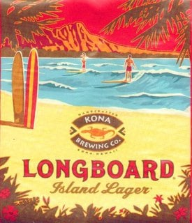 Kona Brewing Co Longboard sales