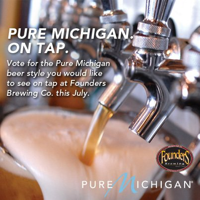 Pure Michigan Beer Banner