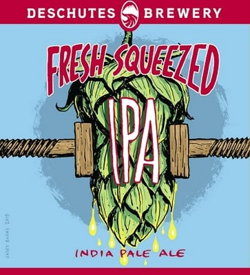 Deschutes Brewery Fresh_Squeezed_Label