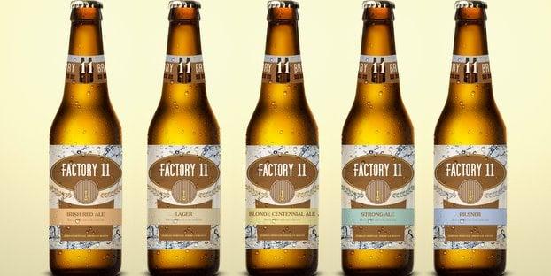 Factory 11 beer from Burkert