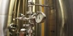 New Holland Brewing bright tank pressure gauge