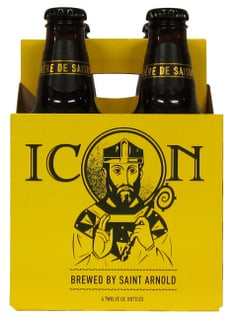 Saint Arnold icon gold biere de saison four pack