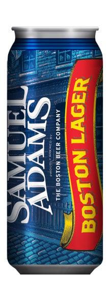 Samuel Adams Boston Lager Sam Can