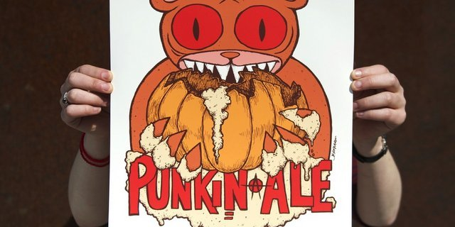 Dogfish Head Punkin Poster