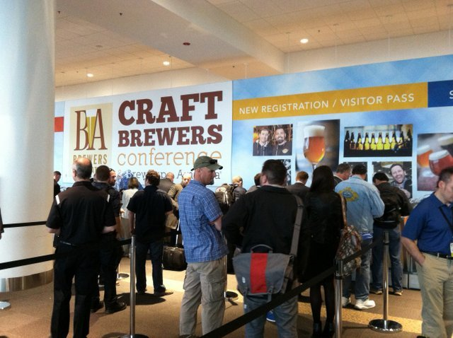 Registration craft brewers conference