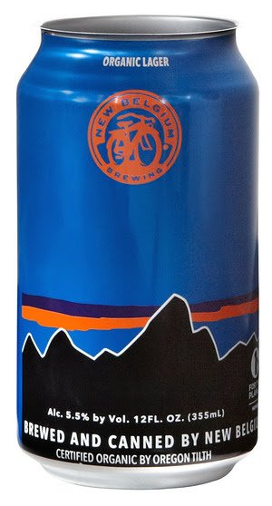 New Belgium California Route beer can