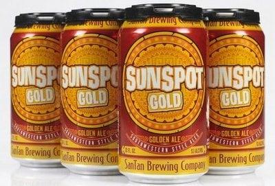 SanTan Beer Canned Golden Ale