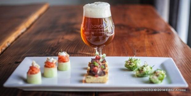 Craft beer and food pairings take flight at savor for Craft beer and food
