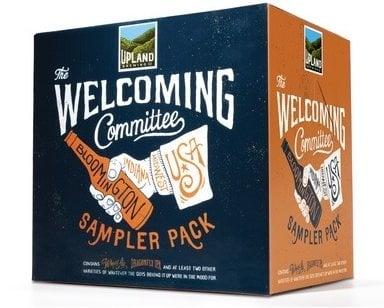 Upland Brewing Sampler Craft Beer pack