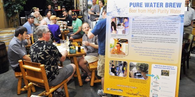 Purified Water Beer Brewing Competition
