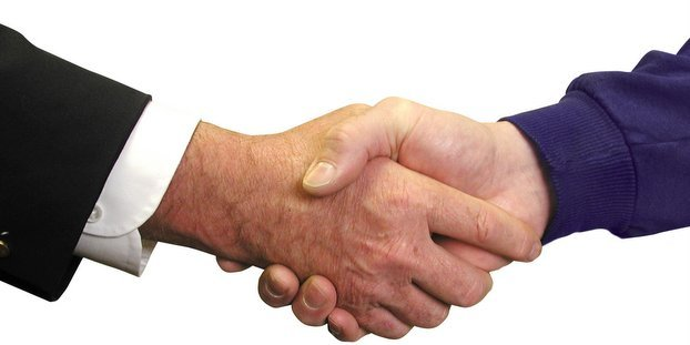 Strategic Partnership Handshake