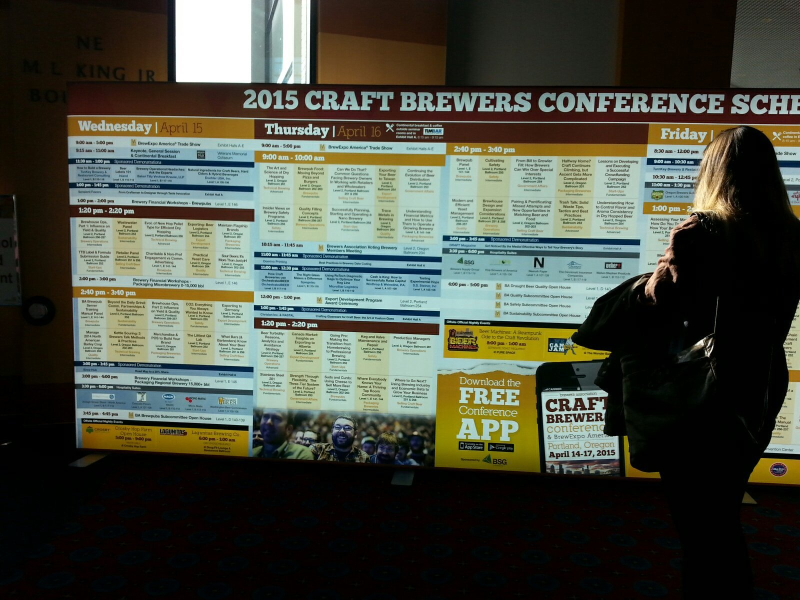 Craft Brewers Conference and BrewExpo America 2015