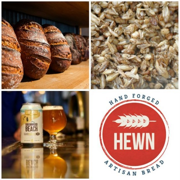 Hewn Bakery Craft Beer Bread