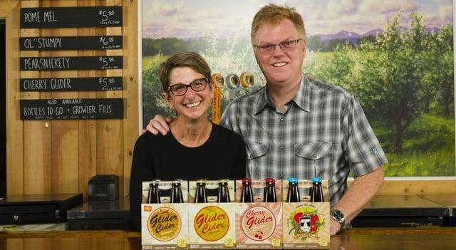 Brad & Kathe Page Colorado Cider