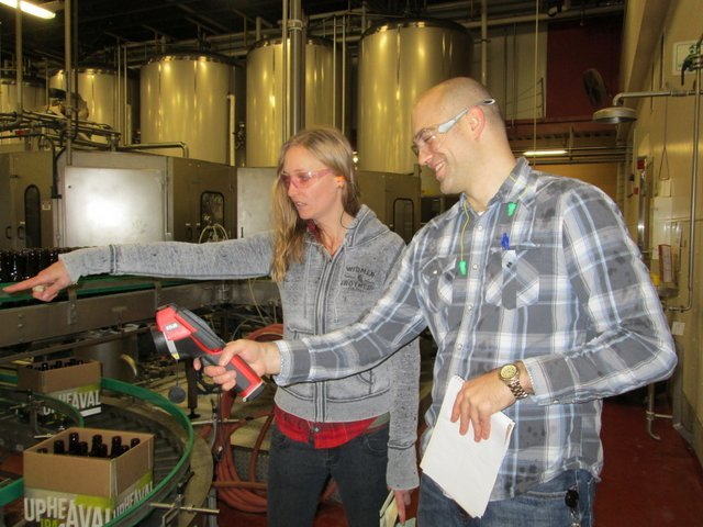 Julia Person, sustainability manager Redhook Brewery