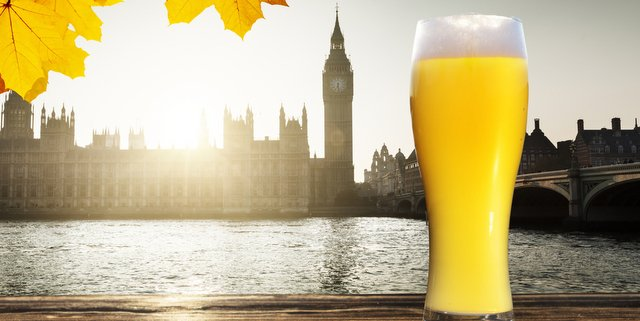 English London beer thames big ben
