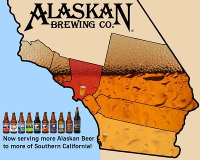 Alaskan Brewing Distribution California