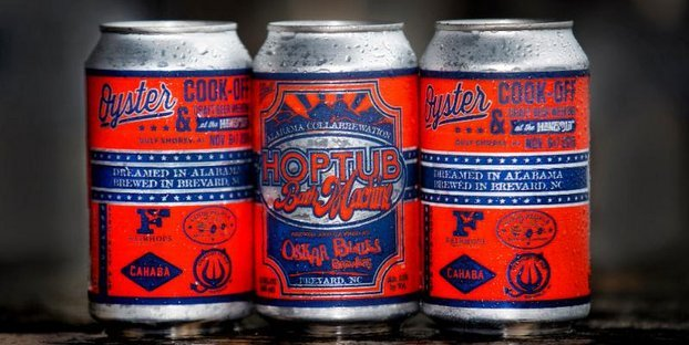Oskar blues Alabama Craft Beer Collaboration
