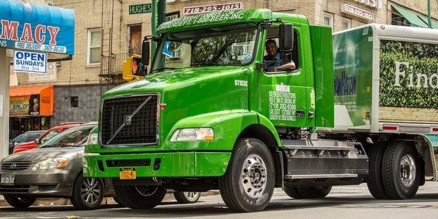 Manhattan Beer Volvo Trucks 1