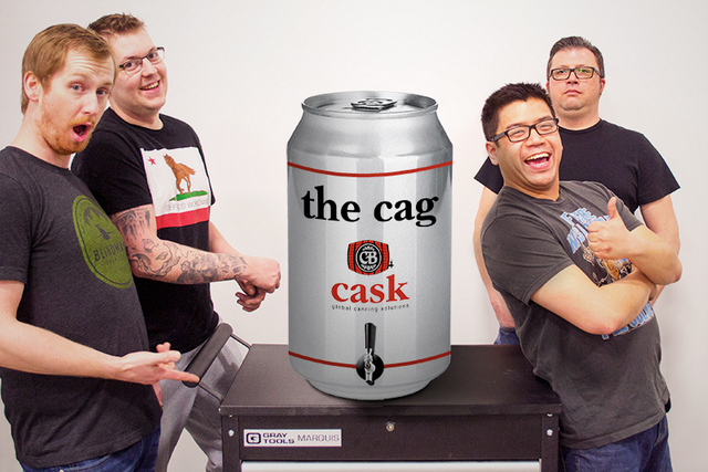 The Cag, from Cask