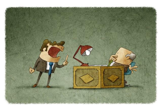 guys talking angry cartoon