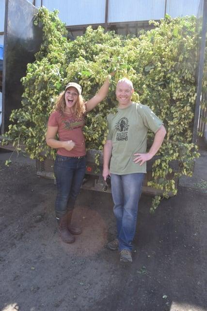 Rogue Farms Keith and Cheryl