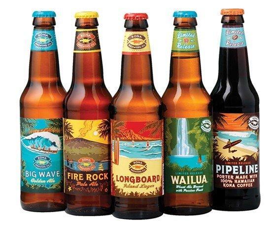Kona Brewing Lineup