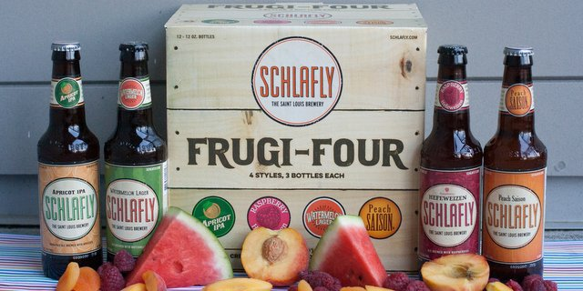 Schlafly goes all fruity, announces Frugi-Four sampler pack