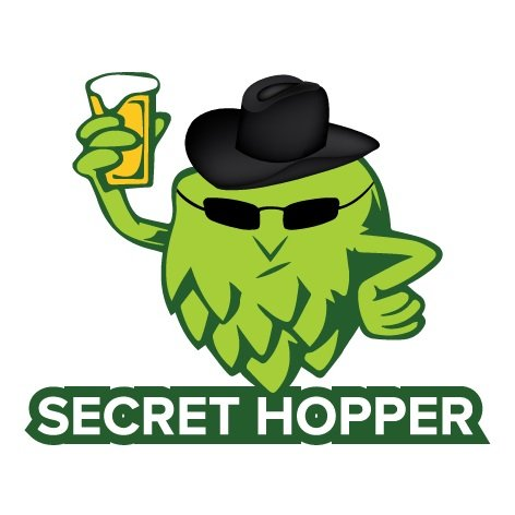 Secret hopper logo