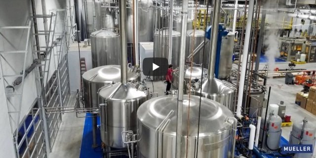 Paul Mueller 50 Barrel Automated Brewhouse Build 2