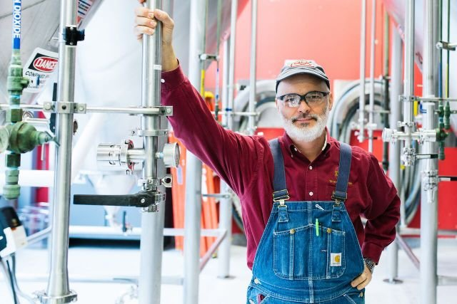 Stephen Hale, founding brewer Schlafly Beer