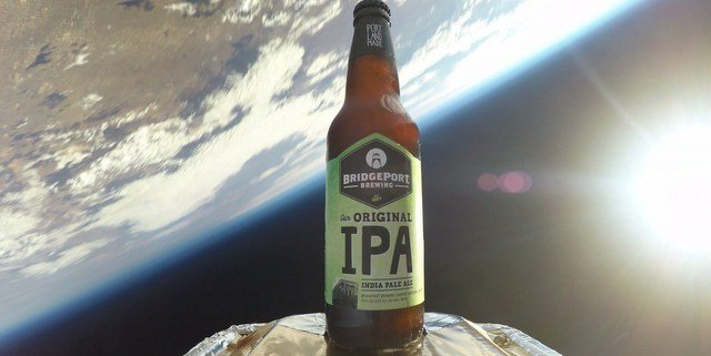 Watch Portland's BridgePort Brewing send its Original IPA into space