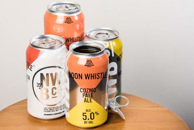 Noon Whistle Crown 360 End cans