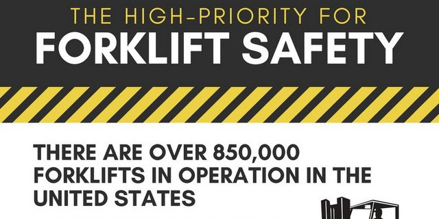 Print out and hang up this important forklift safety rules infographic