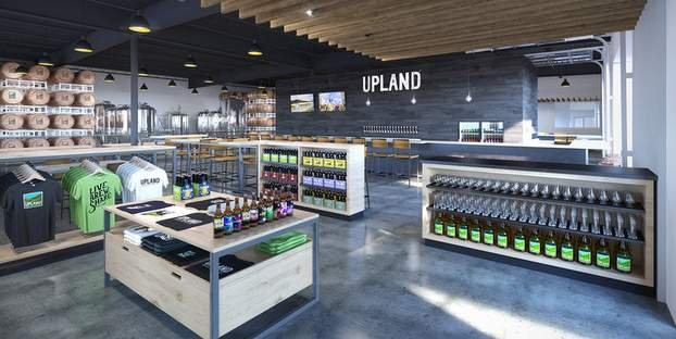 Upland Brewing entrance