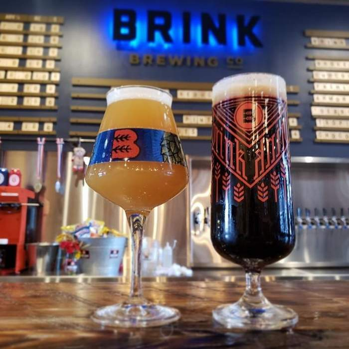 Brink Brewing glass 2
