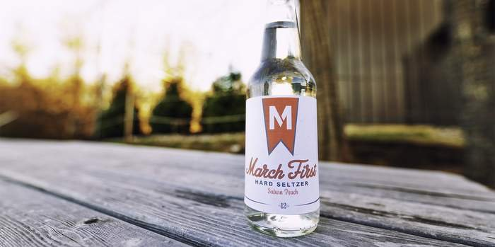 march first hard seltzer bottle