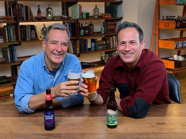 Boston Beer Dogfish head Jim Koch Sam Caligonie