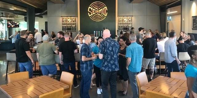 seismic brewing taproom
