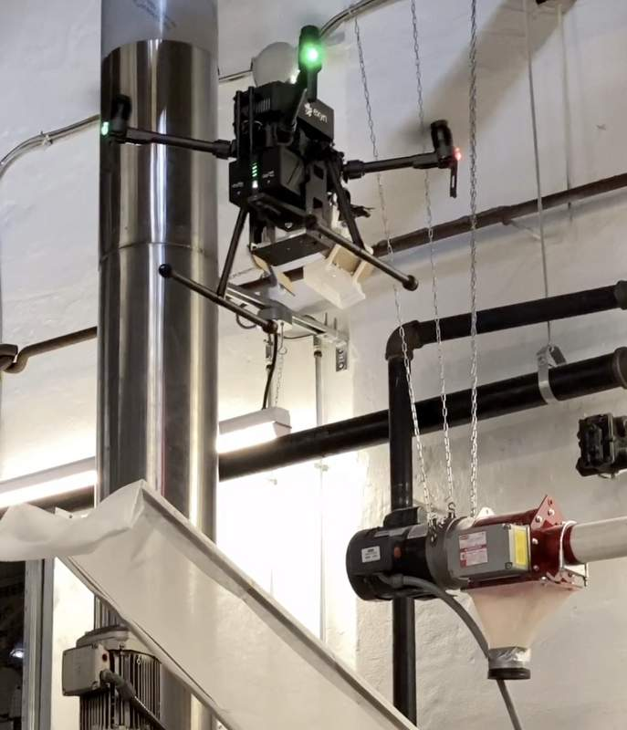drones brewing beer