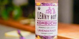 Kombucha-Lavenderade