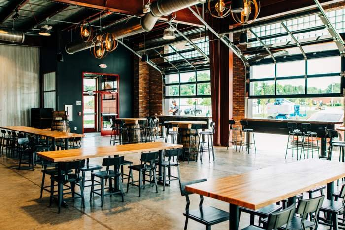Warped Wing Brewery taproom