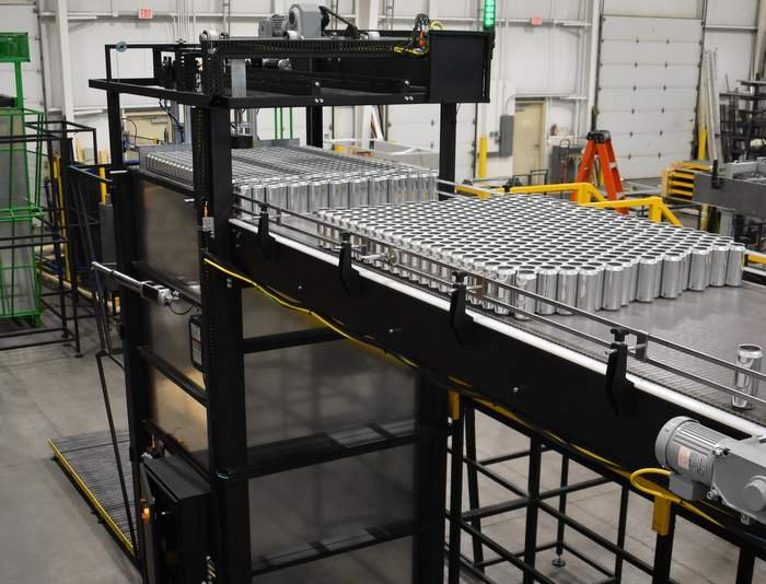 Full-Height ECO Automatic Can Depalletizer